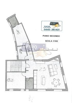 planimetria - APPARTAMENTO THIENE (VI) CENTRO