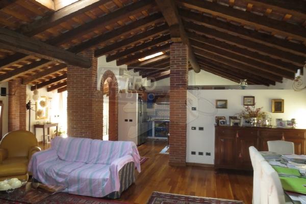zona giorno mansardata - attico THIENE (VI) CENTRO