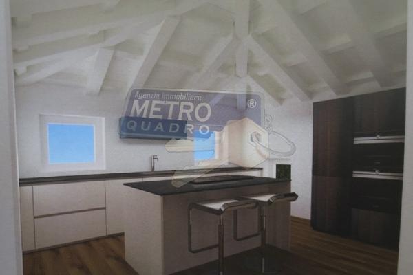 rendering cucina - attico THIENE (VI)