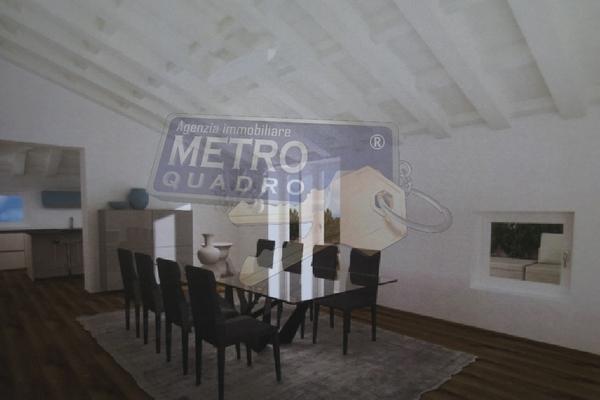 rendering soggiorno - attico THIENE (VI)
