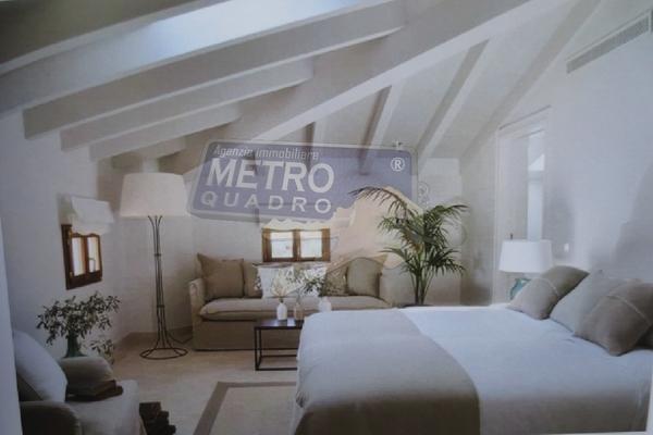 rendering camera matrimoniale - attico THIENE (VI)