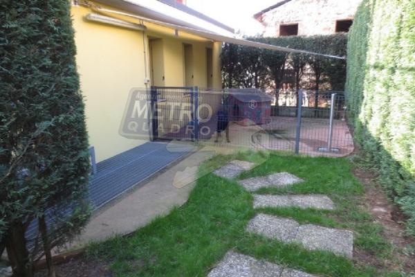 giardino retro per animali - APPARTAMENTO MARANO VICENTINO (VI)
