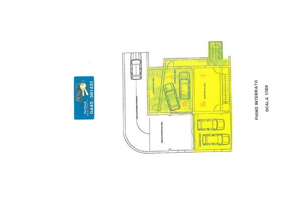 3757-58 pianta piano interrato - APPARTAMENTO THIENE (VI)