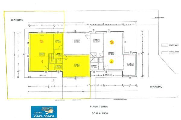 3755-1 piano terra - UNIFAM. AFFIANCATA THIENE (VI)