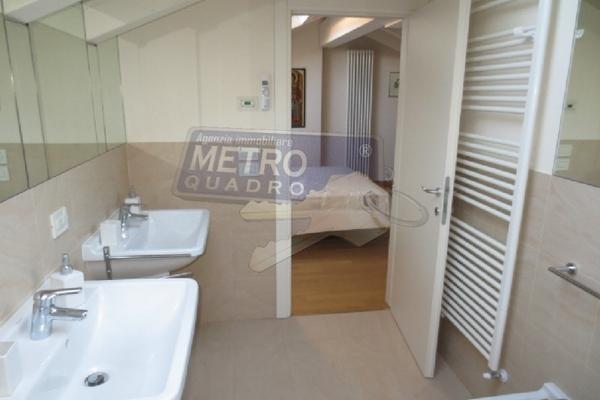 bagno doppio lavabo - attico THIENE (VI)