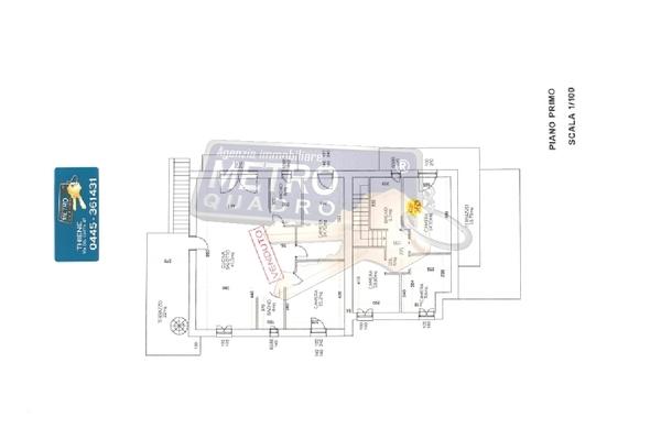3779-22 planimetrie piano prim - APPARTAMENTO THIENE (VI)