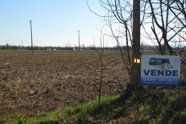 vista 1 - terreno agricolo VILLAVERLA (VI)